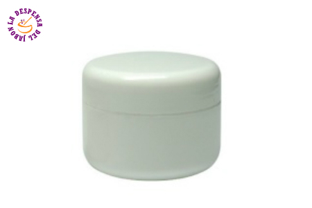Cosmetic Jar White basic