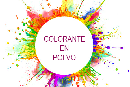 COLORANTES EN POLVO