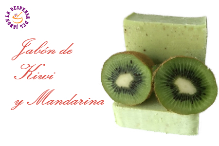Read entire post: Jabón fácil de Kiwi y Mandarina